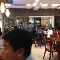 Photo taken at Sri Mahkota Restaurant by Katie Z. on 4/23/2013