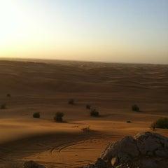 Photo taken at Safari Desert Camp by Hasan on 3/12/2013