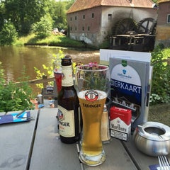 Photo taken at Restaurant De Watermolen by Werner M. on 6/9/2014