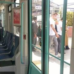 Photo taken at Cevizlibağ - A.Ö.Y. Tramvay Durağı by Semii K. on 5/22/2013