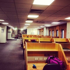 Photo taken at The Baillieu Library by Thomas W. on 8/12/2013