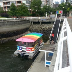 Photo taken at Aquabus Hornby St. Dock by Jared W. on 6/26/2013