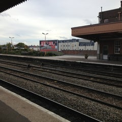 Photo taken at Leamington Spa Railway Station (LMS) by Karl M. on 10/18/2012