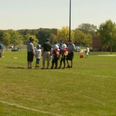 Photo taken at Maple Grove Junior High School by Dan C. on 9/15/2012