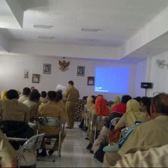 Photo taken at Dinas Pendidikan Kab. Bogor by Yudi K. on 12/11/2012