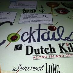 Photo taken at Dutch Kills by Erika R. on 3/21/2013