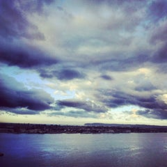 Photo taken at San Diego Bay by Agnieszka J. on 12/29/2012