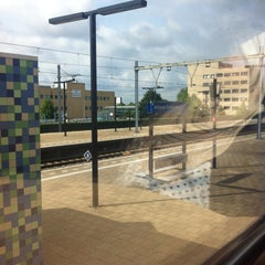 Photo taken at Station Almere Centrum by Alyn R. on 6/27/2015