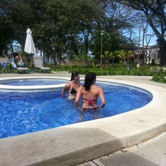 Photo taken at Club De Playa Hotel & Villas Nacazcol Playa Panamá by Ronald Q. on 12/21/2012