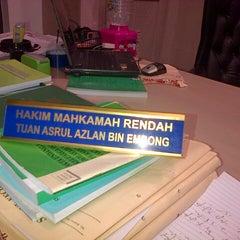 Photo taken at Mahkamah Syariah WP Kuala Lumpur by cik a. on 2/3/2014