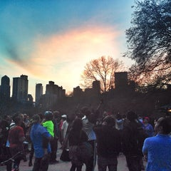 Photo taken at Central Park Dance Skaters Association (CPDSA) — Free Roller Skating Rink by Jillian R. on 4/13/2014