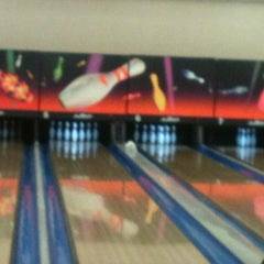 Photo taken at Fantasy Lanes Bowling Center by Vanessa C. on 12/4/2012