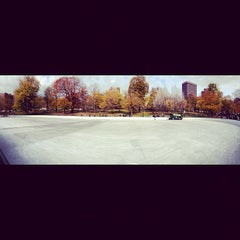 Photo taken at Frog Pond by Javier G. on 11/21/2012