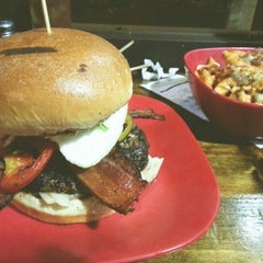 Photo taken at G Burger by Paul K. on 2/9/2013