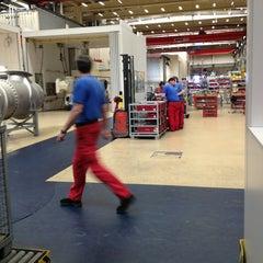 Photo taken at Siemens by Antonio M. on 6/11/2013