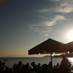 Photo taken at New Season Beach by Dilek Ş. on 11/25/2012