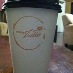 Photo taken at Coffee Villa by Alisha K. on 12/28/2012