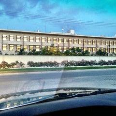 Photo taken at Ambassade des Etats Unis (United States Embassy) by Louis Robert M. on 11/21/2012