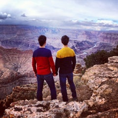 Photo taken at Desert View Watchtower by Twins S. on 2/21/2013