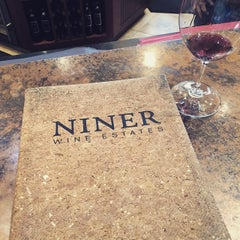 Photo taken at Niner Wine Estates by Thee-O O. on 12/20/2014