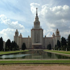Photo taken at МГУ им. М. В. Ломоносова by Omar S. on 8/13/2013