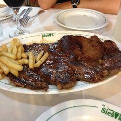 Photo taken at La Siesta Restaurant Bar by Jesús L. on 6/21/2013