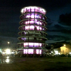 Photo taken at Menara Condong (Leaning Tower) by Anisah A. on 12/8/2012