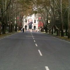 Photo taken at İstanbul Üniversitesi Rektörlüğü by Sibel Y. on 11/19/2012