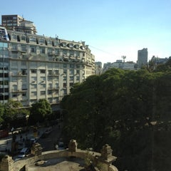 Photo taken at Plaza Hotel Buenos Aires by Ed C. on 4/25/2013