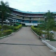 Photo taken at Unipac - Universidade Presidente Antônio Carlos by Matheus C. on 4/1/2014