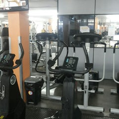 Photo taken at Academia Total Gym by Danubia C. on 4/19/2014