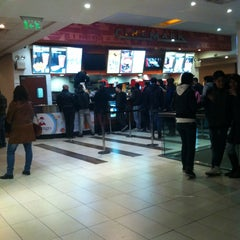 Photo taken at Cinemark Palermo by Claudio on 7/20/2013