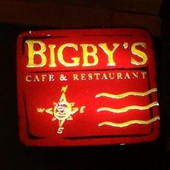 Photo taken at Bigby's Café & Restaurant by Debbie A. on 12/27/2012