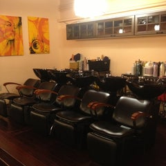 Photo taken at Serenity Salon by Deion S. on 11/29/2012