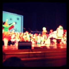 Photo taken at Robson Performing Arts Center by Amber G. on 12/12/2012