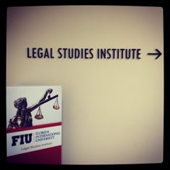 Photo taken at FIU College of Law by Juan D. on 1/17/2014