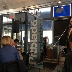 Photo taken at Winnipeg Free Press News Café by Joseph R. on 4/10/2013