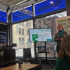 Photo taken at Winnipeg Free Press News Café by Joseph R. on 3/15/2013