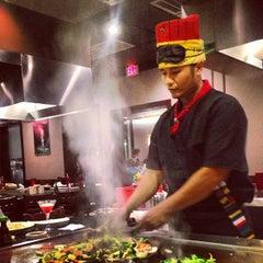 Photo taken at Umi Japanese Steak House & Sushi Bar by Ashley E. on 10/4/2012
