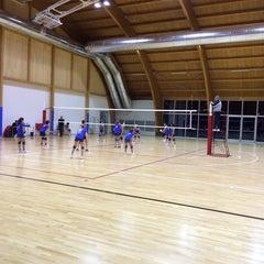 Photo taken at Polisportiva by federico g. on 2/8/2014