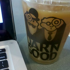 Photo taken at Einstein Brothers Bagels by Katrina D. on 4/8/2013