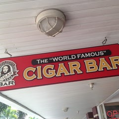 "Photo taken at The ""World Famous"" Cigar Bar by David M. on 3/23/2013"