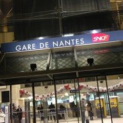 Photo taken at Gare SNCF de Nantes by Gaël H. on 12/18/2012