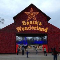 Photo taken at Santa's Wonderland by Jon M. on 12/23/2012