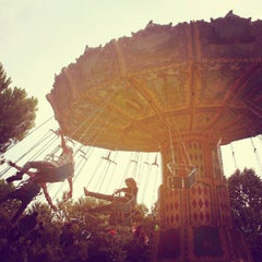 Photo taken at Parque de Atracciones de Madrid by Esther C. on 10/6/2012