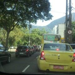 Photo taken at Avenida Epitácio Pessoa by Flavia F. on 4/8/2013