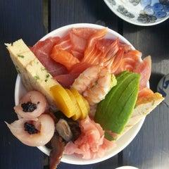 Photo taken at Takumi Japanese Diner by Dillon K. on 4/11/2013