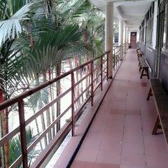 Photo taken at SMA St. Thomas 1 Medan by Kinton A. on 1/27/2014