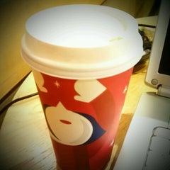 Photo taken at Starbucks by Megan H. on 12/10/2012