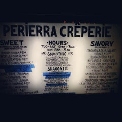 Photo taken at Perierra Crêperie by Nancy H. on 11/25/2012